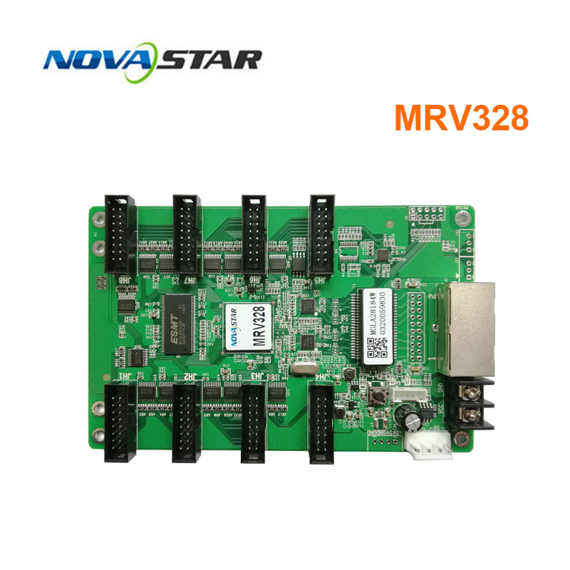 Novastar Control System MRV328 Replace Mrv308 Led Screen Display Receiving Card Outdoor Indoor Full Color Rgb Matrix Led Screen