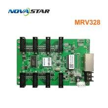Novastar system sterowania MRV328 wymień mrv308 wyświetlacz led karta odbiorcza zewnętrzny kryty kolorowy ekran led rgb matrix