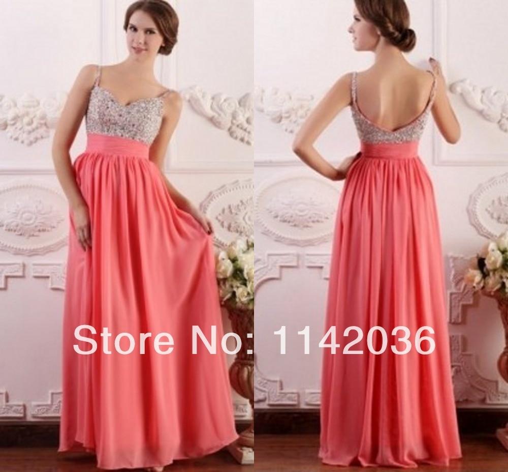 Vestidos de boda color coral