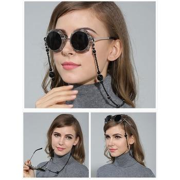 1pcs Eyeglass Holder Necklace Beaded Glass Eyeglass Chain – Fashion Necklace for Eye Glasses Reading Glasses Sunglasses