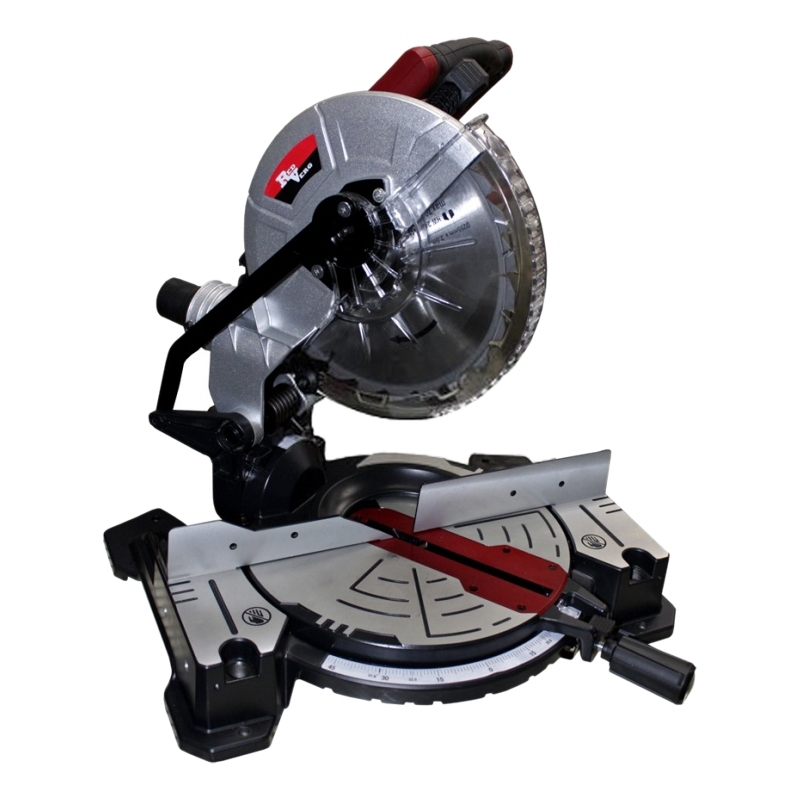 Saw торцовочная table Redverg RD-MS255-1400 (Power 1800 W, no load speed 5000 rev/min) table circular saw redverg rd msu255 1200