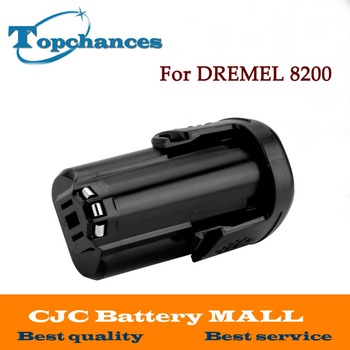 High Quality Newest Replacement 12V 2000mAh Li-ion battery for DREMEL 8200, 8220, 8300, B812-01,B812-02 фото