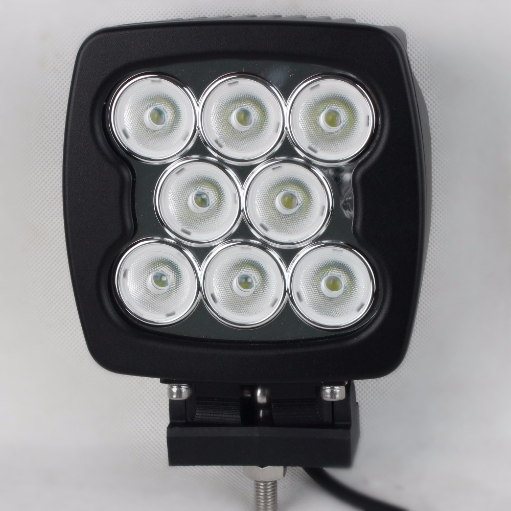 5.5inch 80W led work light for suv atv offroad truck motorcycle boat tractor driving fog lamp spot headlight 12v 24v