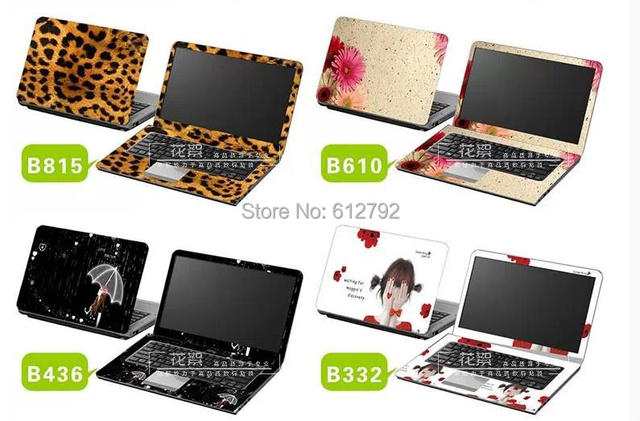100pcs Lot 14 Inch Universal Laptop Skin Sticker Cover For Macbook