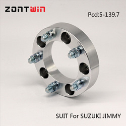 2PCS  5-139.7 Hub centre bore 108 aluminum alloy forge CNC wheel adapters spacers suit for SUZUKI JIMMY