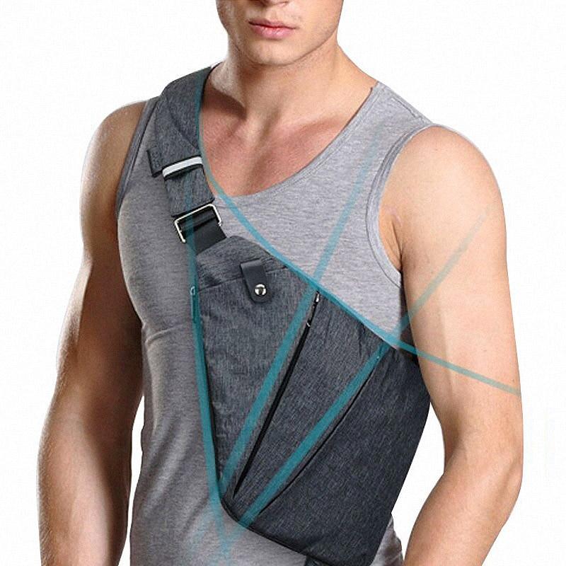 Ruil 2018 Compact Shoulder Bags Men Personal Close-fitting Messenger Bag Waterproof Nylon Versatile Travel Casual Shoulder Bags