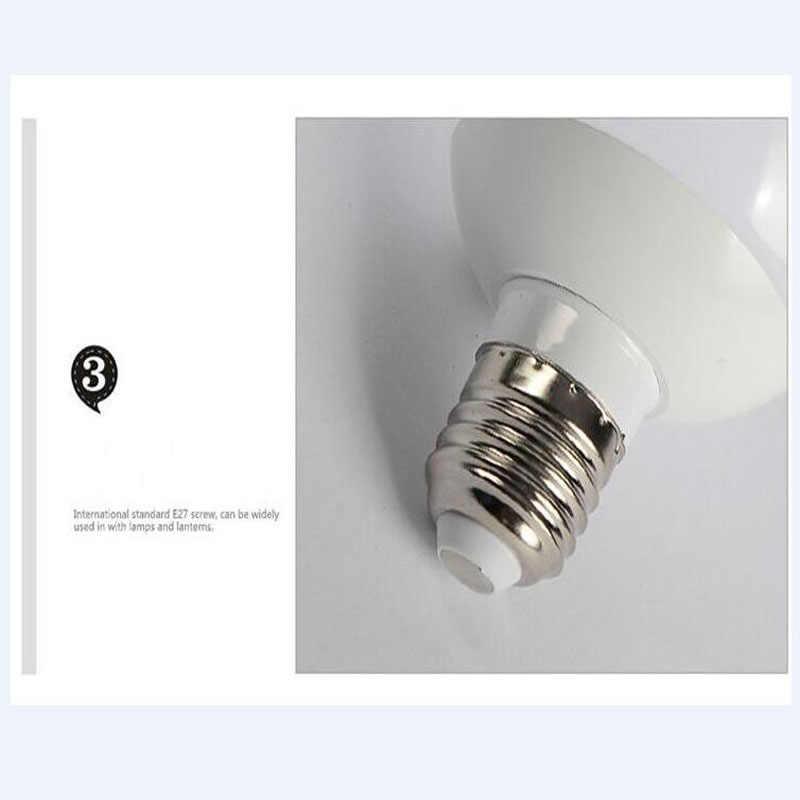 LED 電球ランプ E27 5 ワット 7 ワット 9 ワット 15 ワット 20 ワット 40 ワット 220V SMD5730 暖かい /クールホワイトランパーダホームライト Bombillas ランプスポットライト LED 電球ライト