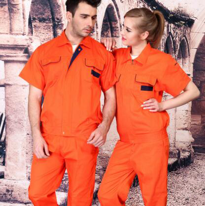 ФОТО SET OF COAT+ PANTS short sleeve summer spring worker coat outdoor working uniform cleaning service uniform
