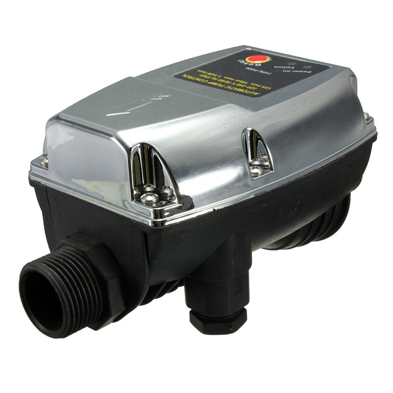 Newest 220V 1.1KW Automatic Pump Pressure Controller Electronic Switch Control For Water Pump 95