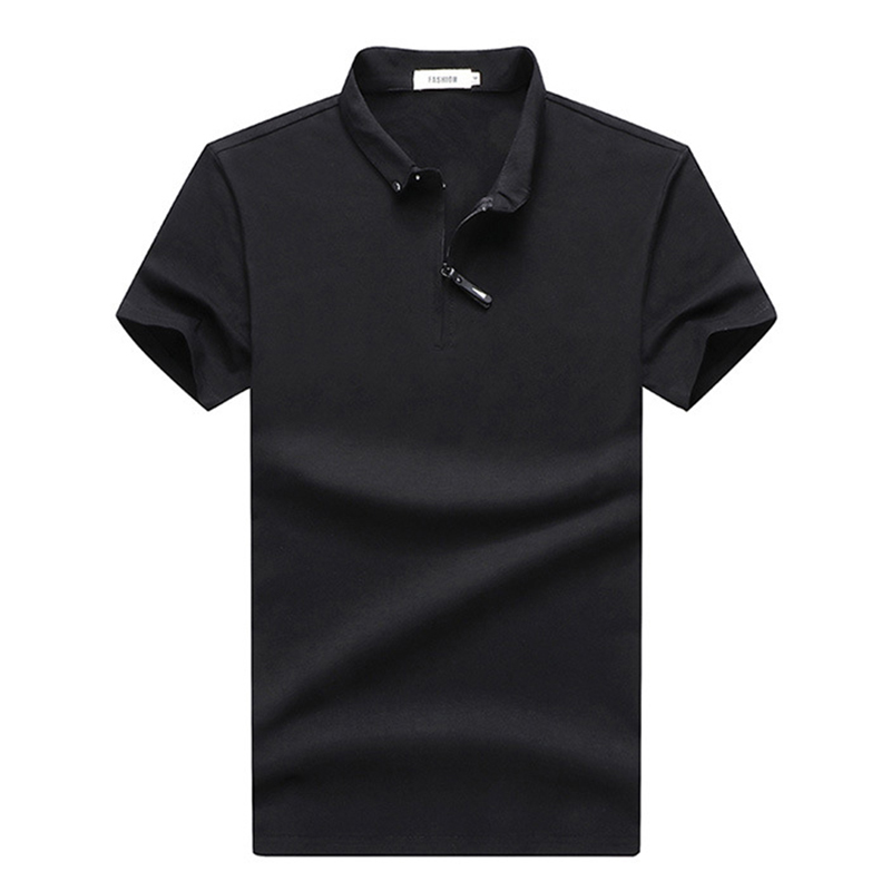 Cotton   Polo   Shirt Men High Quantity Business Casual   Polo   Shirt Male Short Sleeve Solid   Polos   Para Hombre Pure   Polo   Homme M-4XL