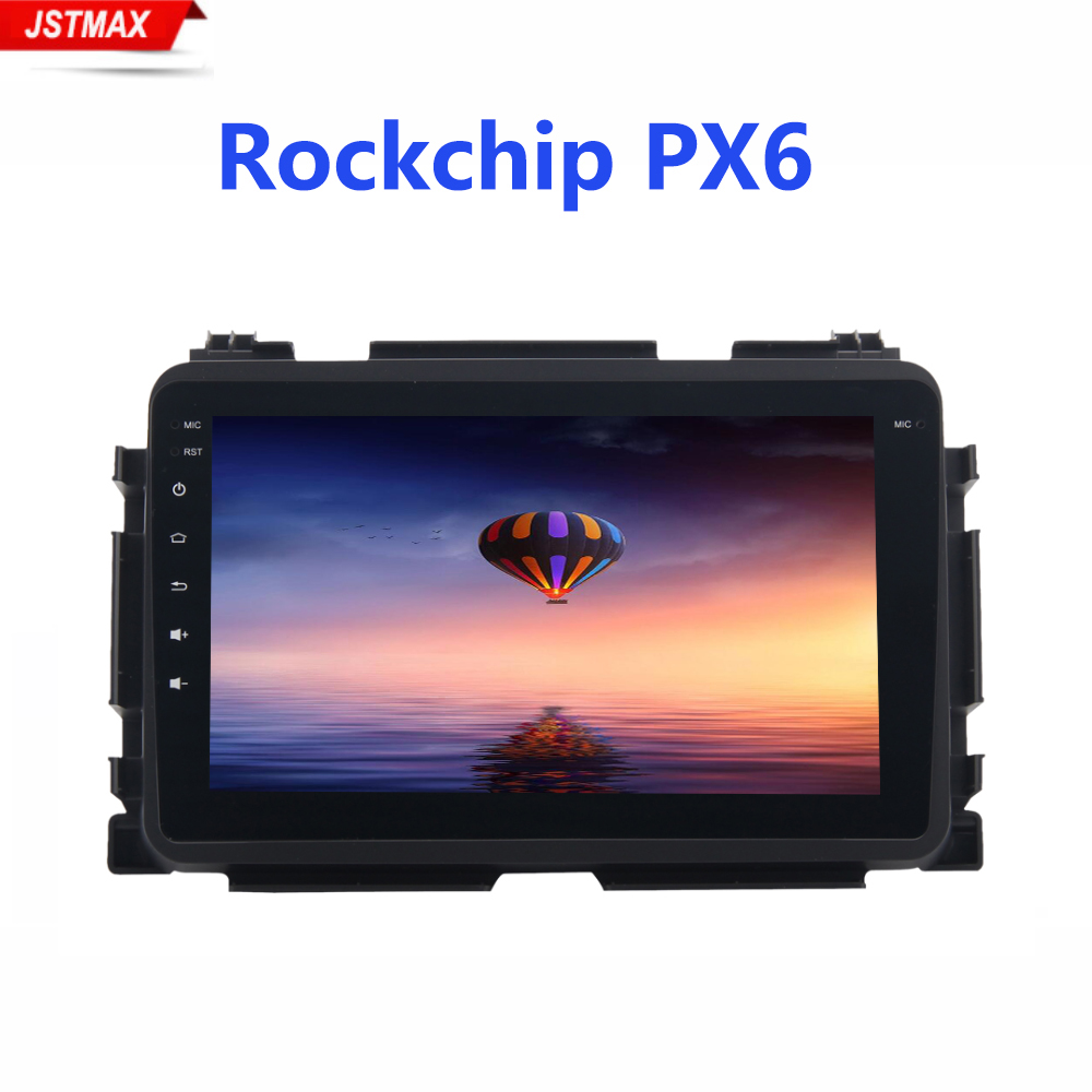 Android 9.0 Car Radio multimedia 2 Din <font><b>GPS</b></font> Navi <font><b>for</b></font> <font><b>Honda</b></font> Vezel HR-V <font><b>HRV</b></font> 2014 2015 2016 2017 2018 PX6 DSP IPS HDMI 4Gb+64Gb RDS image