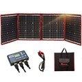 Dokio 160W солнечная панель 12 V/18 V Гибкая Складная солнечная батарея с usb-разъемом переносная солнечная панель набор для лодок/вне двери Кемпинг/...