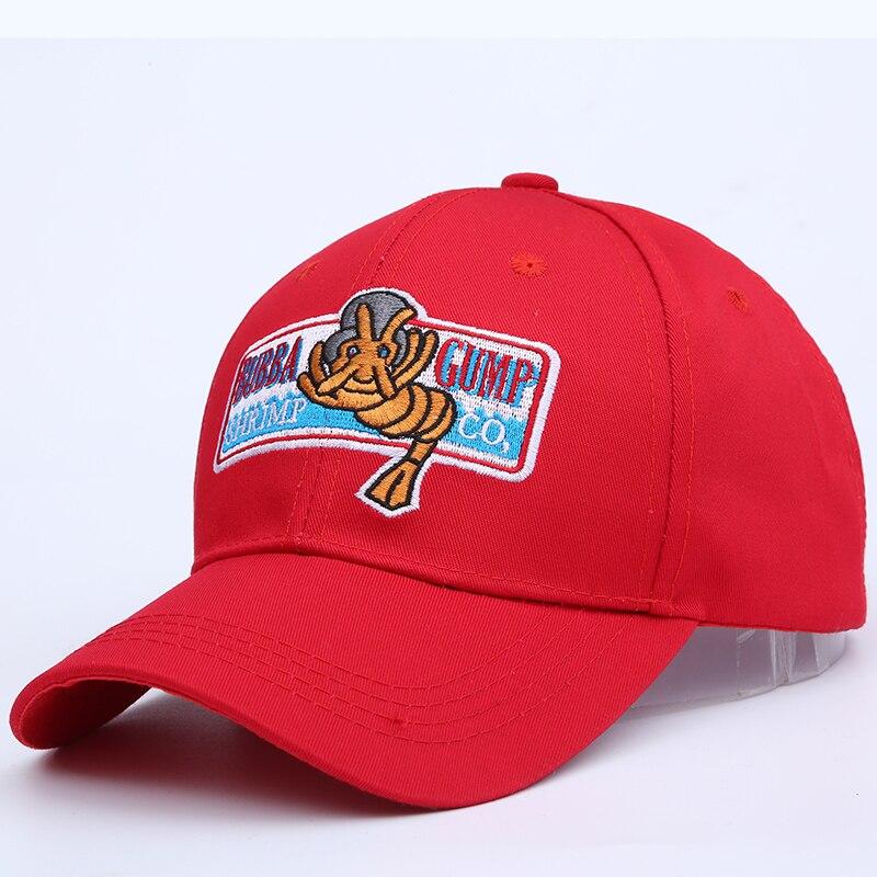1994 BUBBA GUMP SHRIMP CO Baseball cap for men women Sport Summer Cap Embroidered summer Hat Forrest Gump Costume snapback hats фольксваген пассат б4 1994 года
