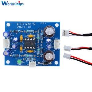 Image 2 - Płytka wzmacniacza NE5532 OP AMP przedwzmacniacz HIFI sygnał przedwzmacniacz Bluetooth przedwzmacniacz płyty w magazynie