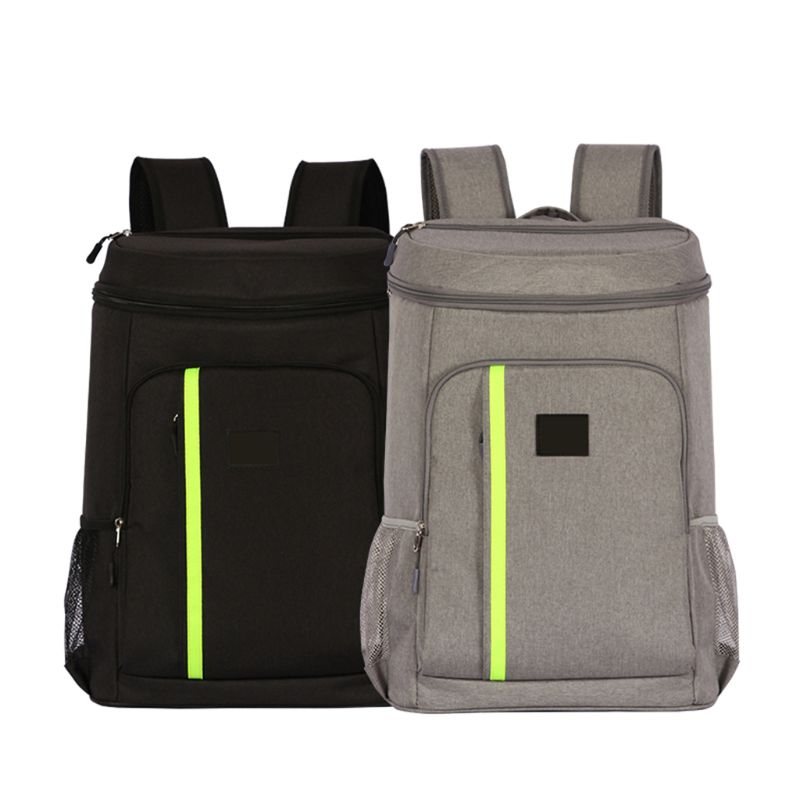 Hot 19l Insulated Cooling Backpack Picnic Camping Hiking Beach Park Ice Cooler Bag Lunch Rucksack Unisex Oxford Fabric Backpacks Big Clearance Sale Sports & Entertainment