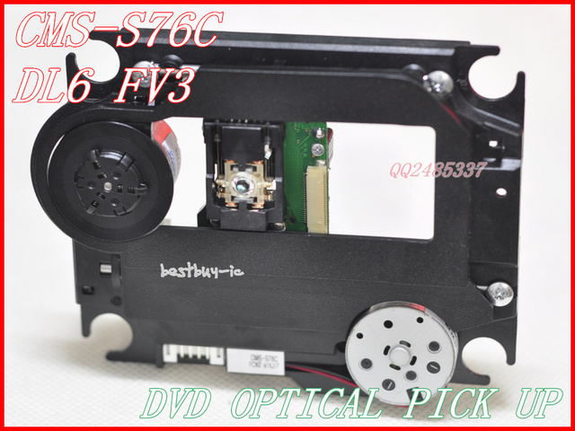 CMS-S76C  SOH-DL6FV3  for DVD laser head  with plastic mechanism