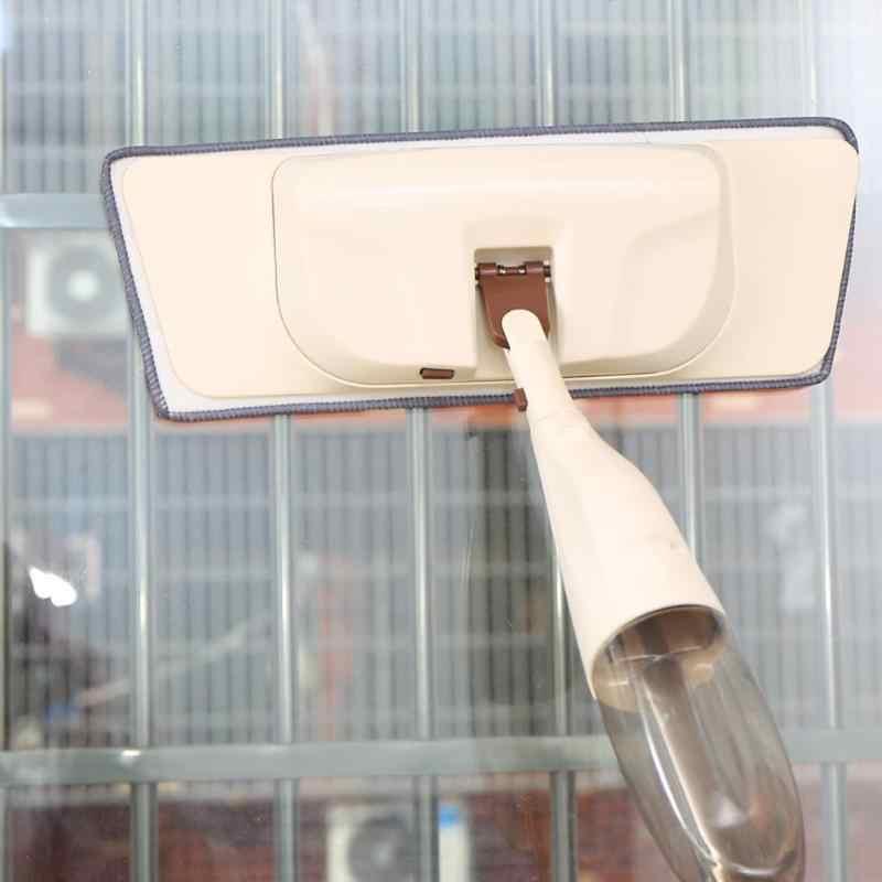 ممسحة رشاشة للأرضيات الصلبة ممسحة تراب مع 2 قطعة وسادة ستوكات نظافة سريعة مع زجاجة ماء قابلة لإعادة الملء