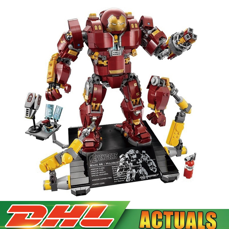 In Store Lepin 07101 1527pcs Super Hero Toy Legoinglys 76105 Iron