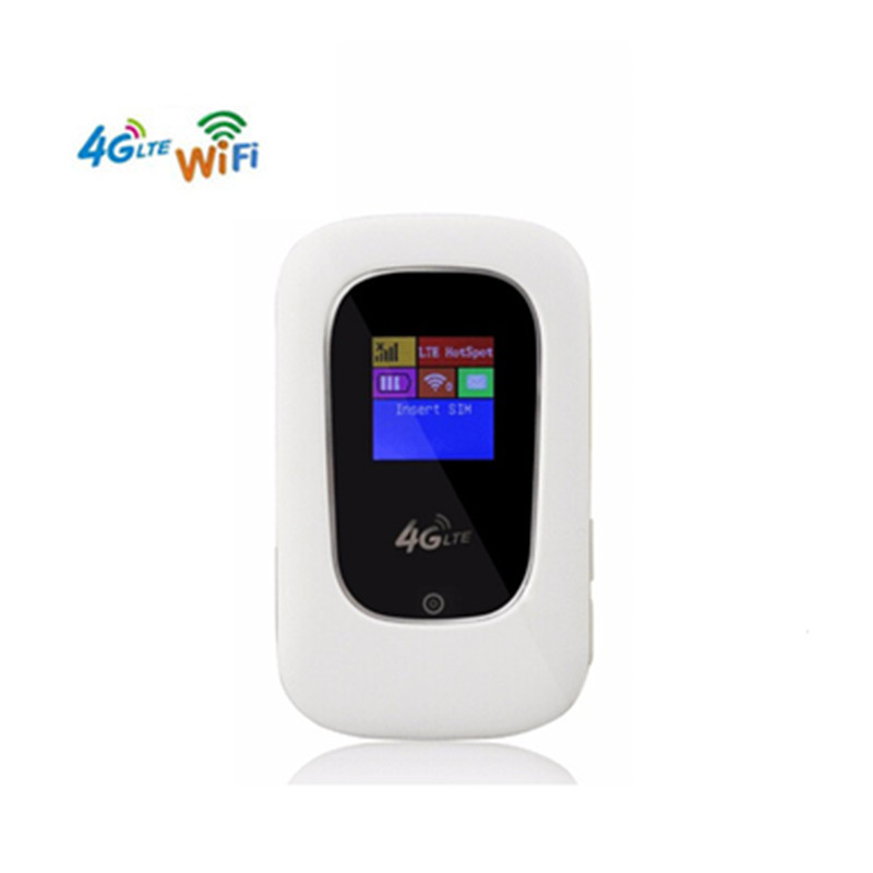 KuWfi Unlocked 4G LTE Wifi Router 150Mbps Mini Portable Mobile 3G 4G Wi-Fi Modem Router With SIM Card Slot kuwfi smart moblie power bank 3g wifi router with sim card slot portable mobile wifi hotspot wi fi modem 3g wifi router