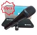 10 Шт./лот Лучшие Качества E945 Профессиональный Динамический Супер Кардиоидный Вокальный Проводной Микрофон