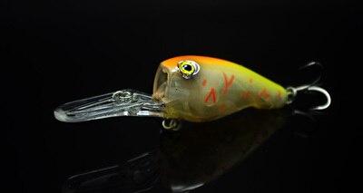 Fishing Long Shot Glow Lure Crank Bait 95mm 11g Deep Dive Plate - Pesca - Fotografia 5