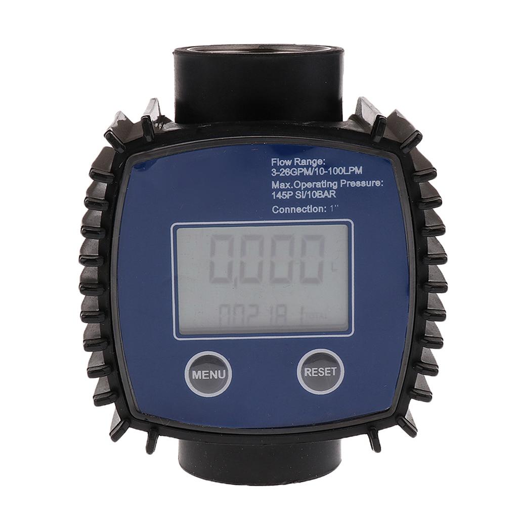 Turbine Fuel Diesel Gasoline Kerosene Oil Oval Gear Digital Flow Meter 1Turbine Fuel Diesel Gasoline Kerosene Oil Oval Gear Digital Flow Meter 1