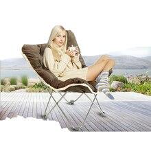 Folding chairs Outdoor Furniture Sun Loungers Beach Chairs Folding lunch break recliner Balcony sofa chair Lounger Chair