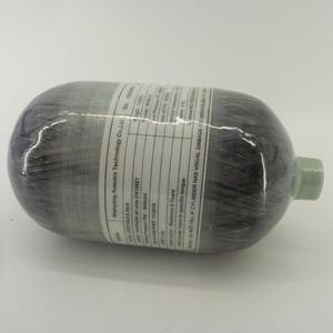 Image 5 - AC5201Fashion 2L 4500PSI 300bar Paintball PCP Serbatoio HPA In Fibra di Carbonio Cyliner per Airforce Condor Tiro Al Bersaglio e Calibro Acecare