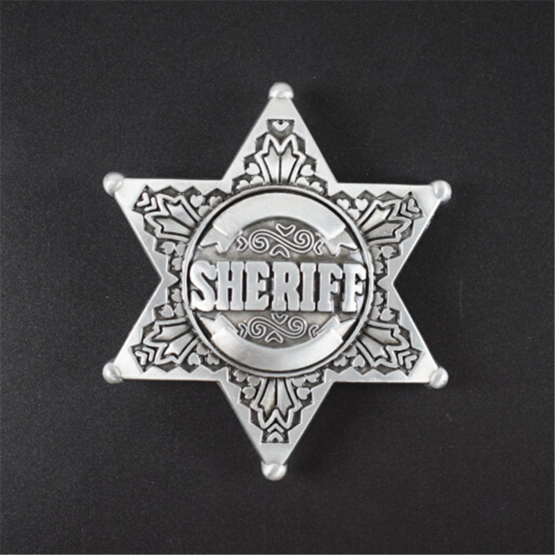 Online Buy Wholesale Metal Sheriff Badges From China Metal