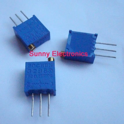 25PCS 20K Ohm Precision 3296w Variable Resistor Trimmer 3296