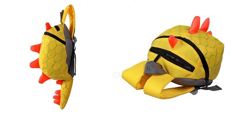 Dinosaur Anti lost backpack for kids Children Backpack aminals Kindergarten School bags for 1-4 years 6