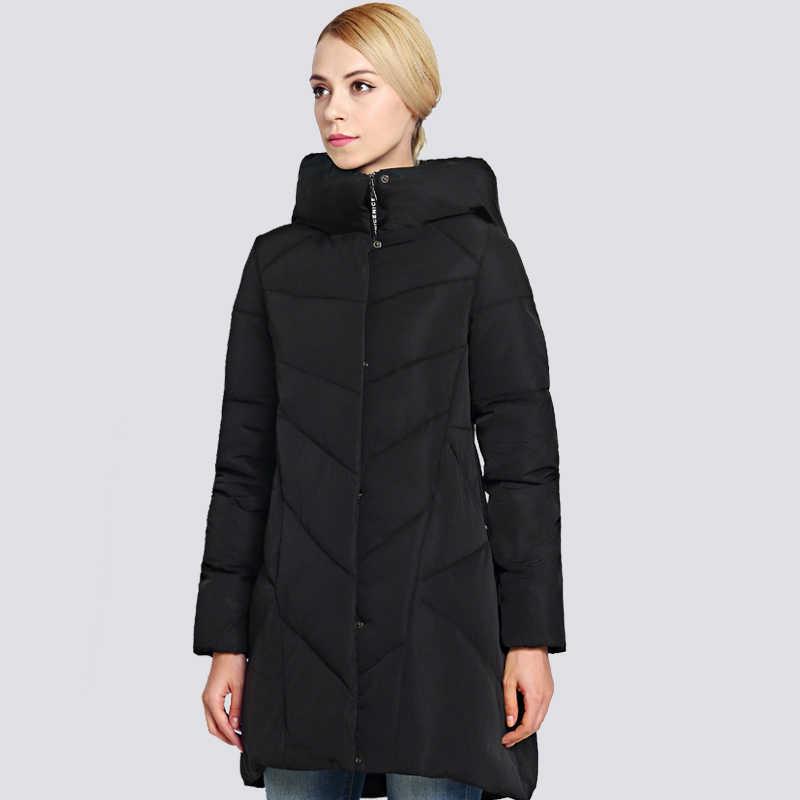 2019 kadın Kış Ceket Artı Boyutu Uzun Moda Kadın Kış Ceket Kapşonlu Sıcak Kalınlaşma rüzgar geçirmez Aşağı Ceket Parka