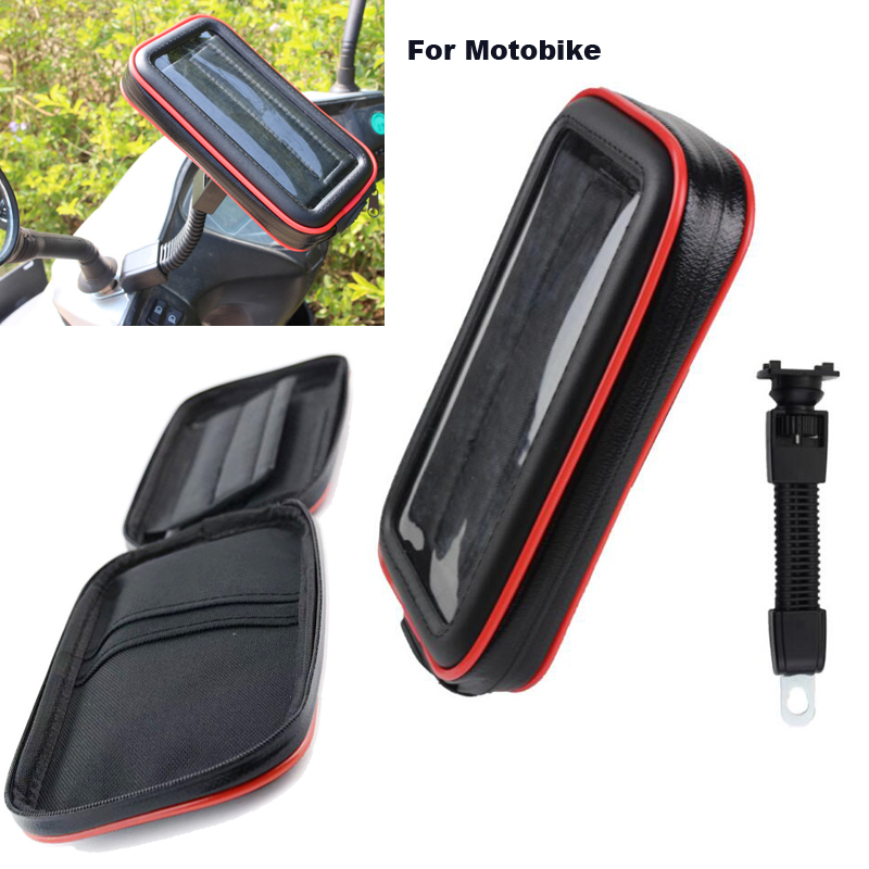 Touch Screen Bicycle Motocycle Bike Mobile Phone Holders Case Bags For Xiaomi Black Shark,Mi A2 (Mi 6X),Redmi S2,Oneplus 6