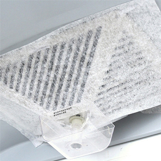 Universal Non Woven Kitchen Hood Filter Oil Absorbing Paper Anti Cotton Filters