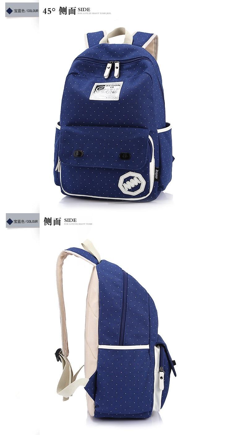 Sunborls Canvas Backpack Women School Bags for Teenage Girls Cute ... e1705126b9