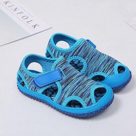 sandalias de praia ano criancas chinelos sapatos da