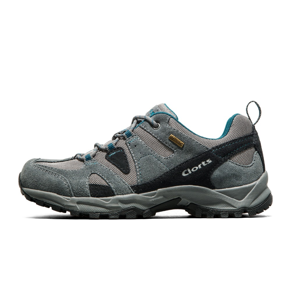 2016 clorts hiking shoes low cut cow suede outdoor