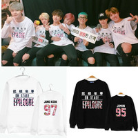Bts Bangtan Boys New Album Young Forever On Stage Printing O Neck Sweatshirt For Kpop Fans