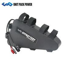 EBIKE 48 V 52 V треугольный чехол батарея 20ah 18ah 15ah 12ah elctric велосипедный литиевый аккумулятор для 350 w 1000 W мотор Bafang TSDZ 2