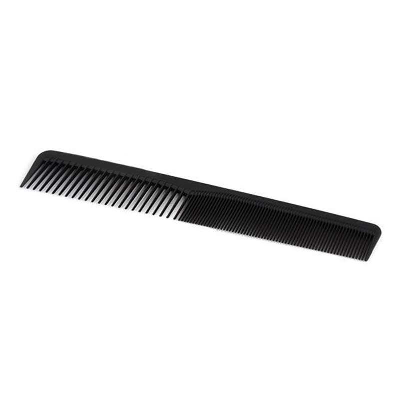 Professional Hair-Cutting Hair Styling Hairstylist Hairdressing Black Length 18CM/7.09 Durable Heat Resist Well Plastic Comb