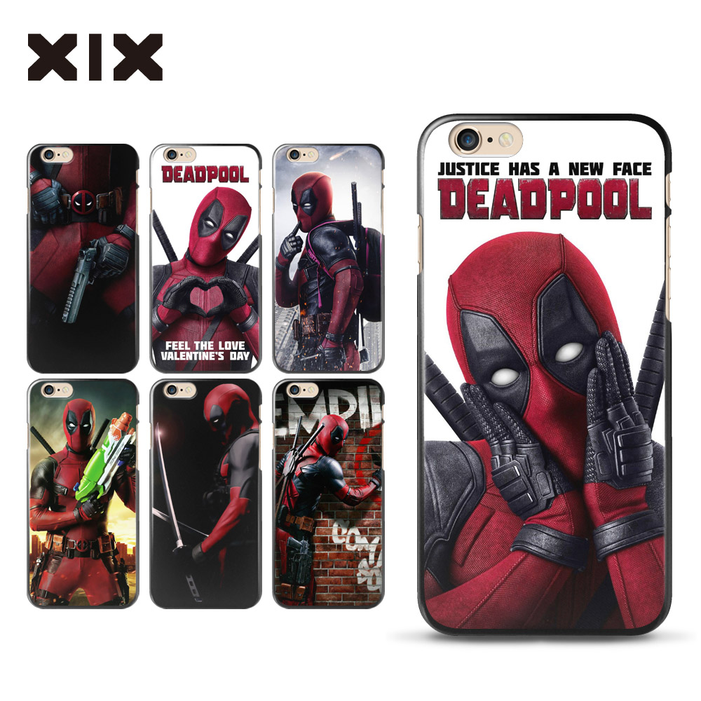 for fundas iphone 4 4s case deadpool hard pc back cover. Black Bedroom Furniture Sets. Home Design Ideas