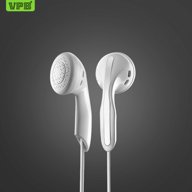 VPB S8 Sport Earphone Wired Super Bass 3.5mm Crack Earphone Earbud with Microphone Hands Free for Samsung MP3