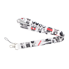 K187 Cool lanyards Id Badge Holder Keychain ID Card Pass Gym Mobile Lanyard Key