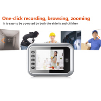 Electronic Wireless Video Voice Doorbell Night Vision Wide Angle Long Standby HD Doorbell XXM8