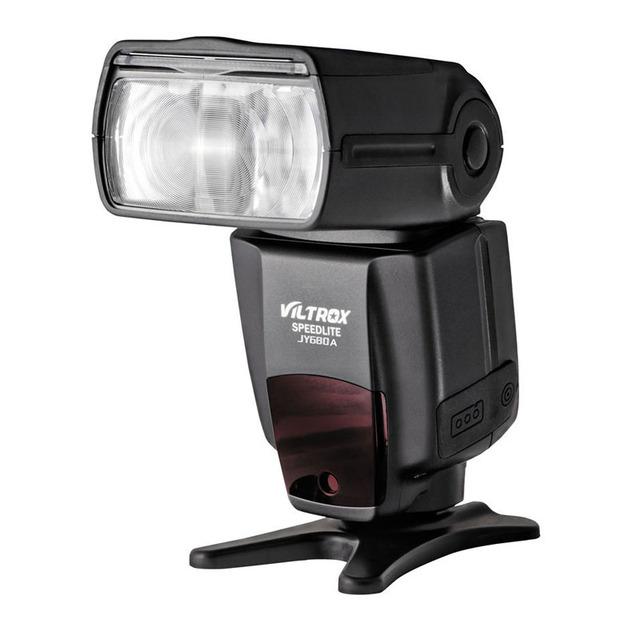 2017 venta caliente jy-680a jy680a viltrox flash speedlight para canon nikon pentax olympus cámara + envío gratuito