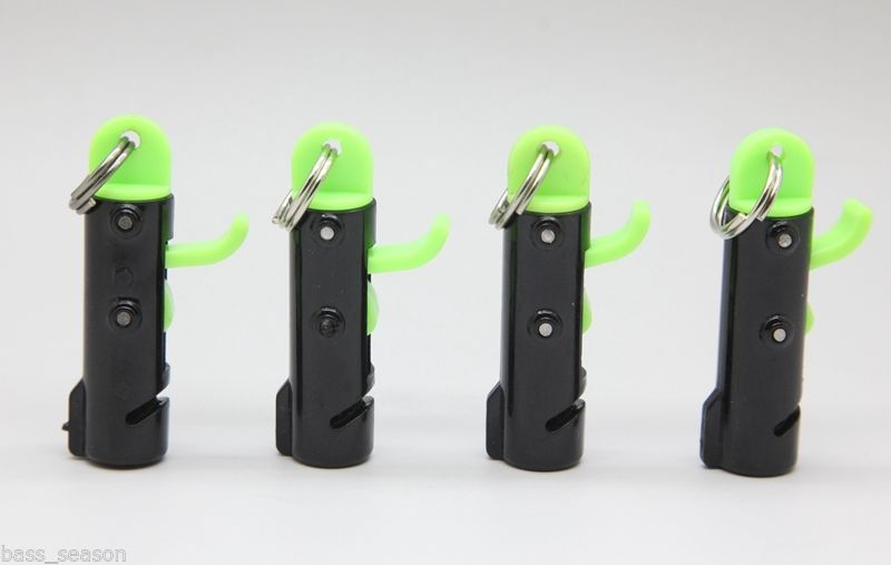 4Pcs Downrigger Fishing Pressure Lock Snaps Clips Sinkers Weight Trolling System(China)