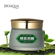 BIOAQUA Mung Bean Mud Washable Mask Depth Replenishment Moisturizing Oil Control Unisex Skin Care Makeup