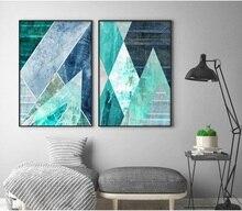 oothandel turquoise wall art canvas Gallerij - Koop Goedkope ...