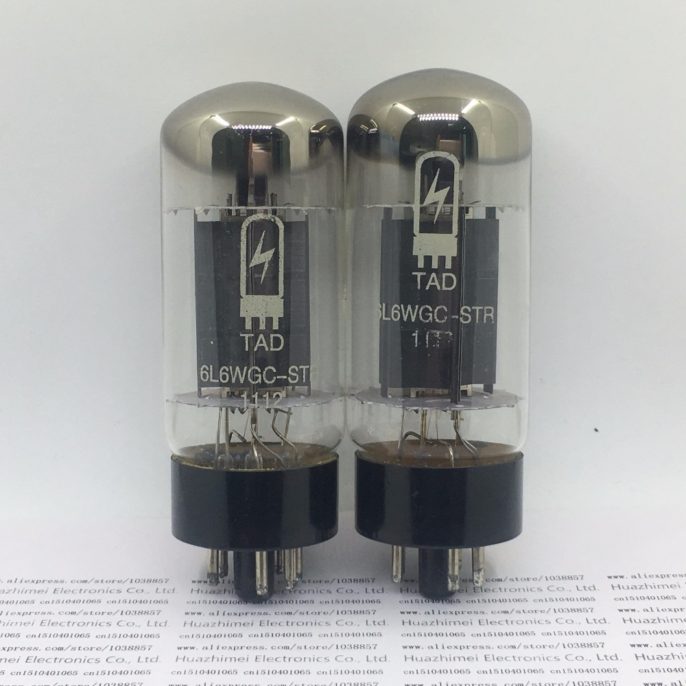 2PCS/LO tube TAD 6L6GC 6L6 DIY HIFI tad rt212 tube 6l6gc str duett