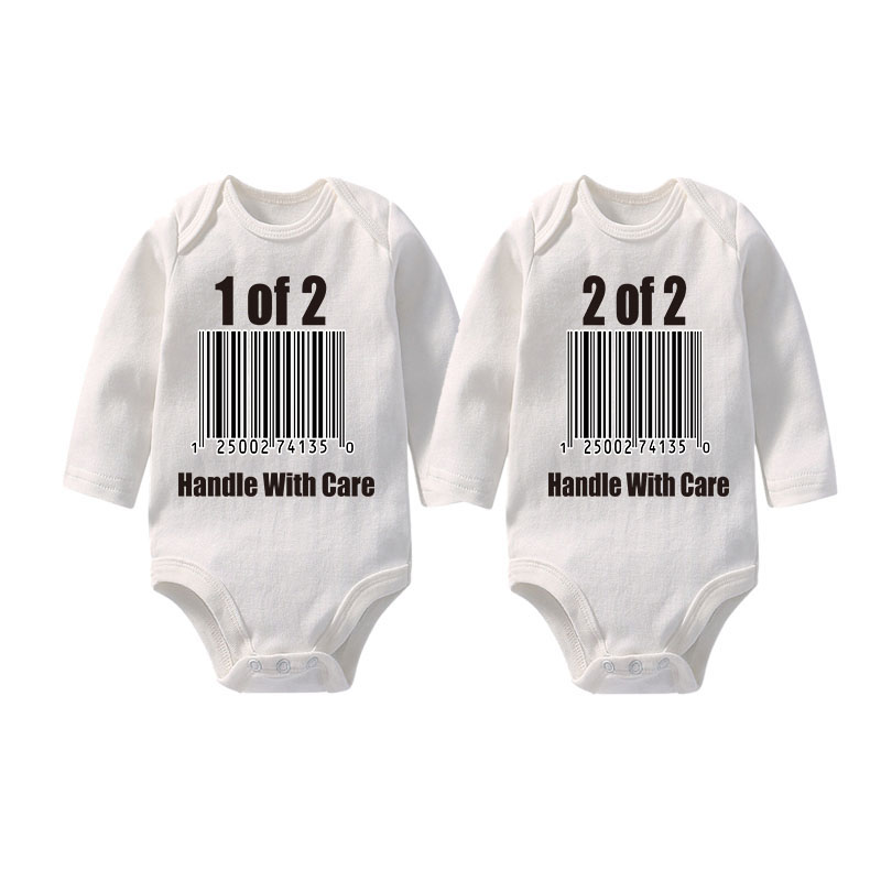 Culbutomind Twins Baby Clothes  For Boy/Girl Newborn Twins Clothing Set Long Sleeve Spring Summer Autumn Newborn Baby Bodysuit